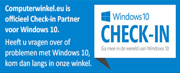 Computerwinkel.eu is officieel Windows 10 Check-in partner