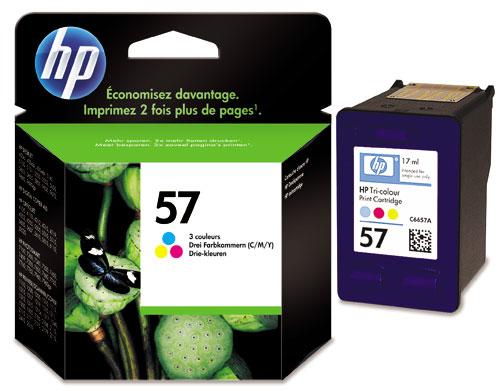 HP 57 (C6657AE) inktcartridge kleur (origineel)