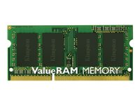 Kingston ValueRAM - Memory - 4 GB - SO DIMM 204-pin - DDR3L - 1600 MHz 1.35 V