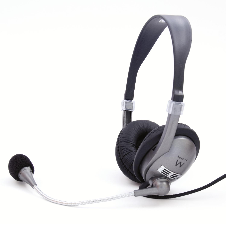 Ewent EW3561 Ewent Hoofdtelefoon met Microfoon