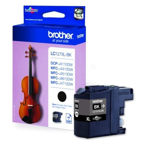 Brother LC-127XLBK inktcartridge zwart hoge capaciteit (origineel)