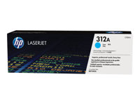 HP 312A - Cyan - original - LaserJet - toner cartridge ( CF381A ) - for Color LaserJet Pro MFP M476dn, MFP M476dw, MFP M476nw