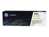HP 312A - Yellow - original - LaserJet - toner cartridge ( CF382A ) - for Color LaserJet Pro MFP M476dn, MFP M476dw, MFP M476nw