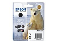 Epson 26XL - Black - original - ink cartridge - for Expression Photo XP-760, 860; Expression Premium XP-510, 520, 615, 625, 710, 720, 810, 820