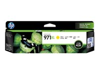 HP 971XL - High Yield - yellow - original - ink cartridge - for Officejet Pro X451dn, X451dw, X476dn MFP, X476dw MFP, X551dw, X576dw MFP  6600 paginas