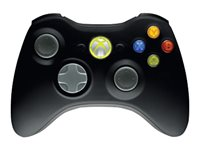Microsoft Xbox 360 Wireless Controller for Windows - Game pad - 16 button(s) - wireless - black