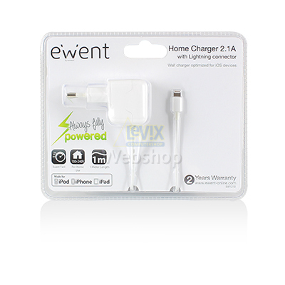 EW1213 USB CHARGER LIGHTNING APPLE