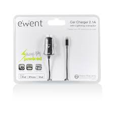 EW1212 USB CAR CHARGER LIGHT. APPLE