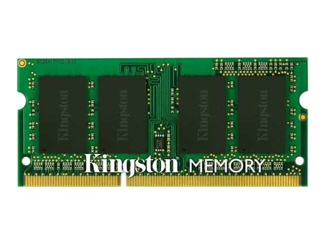 Kingston ValueRAM - Memory - 8 GB - SO DIMM 204-pin - DDR3 1600 MHz