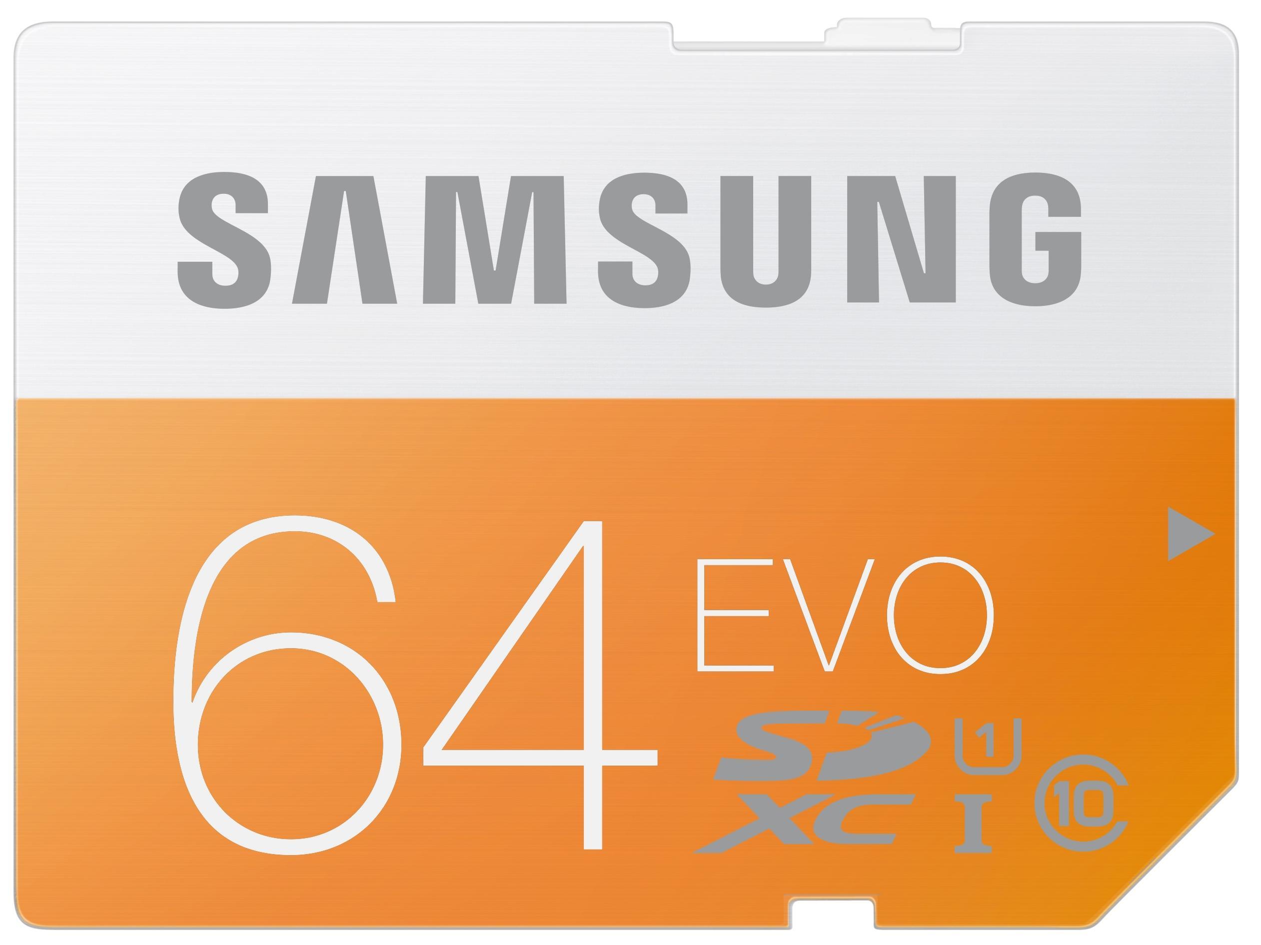 Samsung SD 64GB MicroSecure Digital Class 10 48MB/s