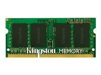 Kingston ValueRAM - Memory - 4 GB - SO DIMM 204-pin - DDR3 1600 MHz