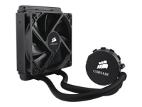 CORSAIR CPU Water Koeler H55 - 1700RPM - 1 120mm fan - Intel LGA1150 1155 1156 1366 2011 AM2 AM3 FM1 - Cooling - Hydro Series