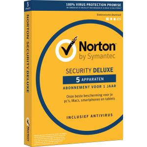 Norton Security 3.0 NL 1 user 5 device NL
