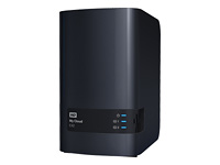 Wester Digital My Cloud EX2 NAS Case personal cloud storage 2-bay Dual Gigabit Ethernet 1,2GHz processor DNLA RAID 0/1 External NAS RTL