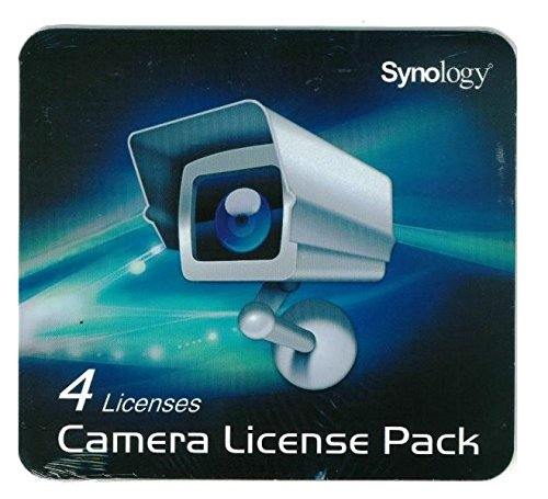 Synology Surveillance  DEVICE LICENSE PACK (4 LICENSES)
