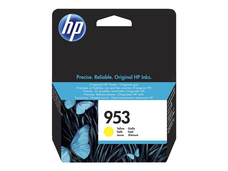HP 953XL - hoog rendement - geel - origineel - inktcartridge