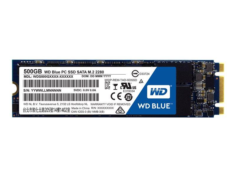 WD Blue SSD 500GB WDS500G1B0B M.2