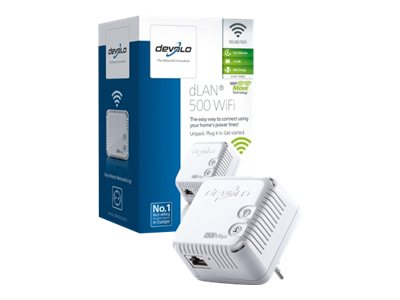 Devolo dLAN 500 WiFi Ethernet 500Mbit/s netwerkkaart & -adapter