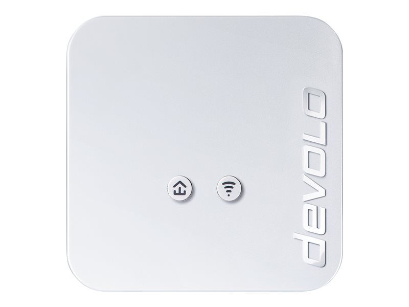 Devolo dLAN 550 WiFi Ethernet LAN Wi-Fi Wit 1stuk(s) PowerLine-netwerkadapter