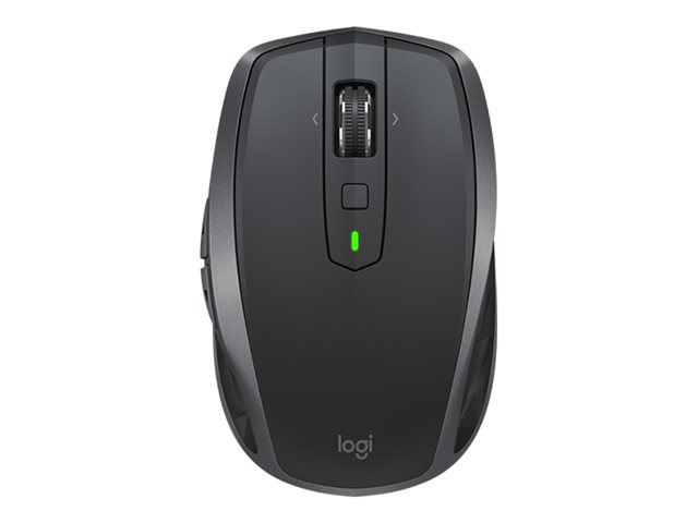 Logitech MX Anywhere 2S - muis - Bluetooth,2.4 GHz - grafiet