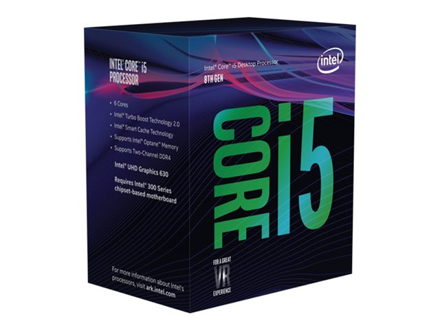 Intel Core i5-8400 2,80 GHz LGA1151 9MB Cache Boxed CPU