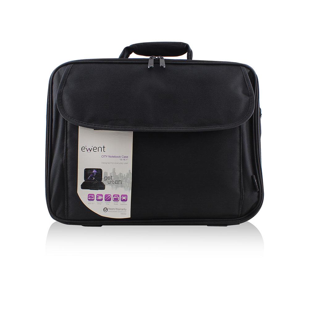 Ewent Laptop tas  16.1 zwart EW2502