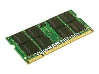 Kingston ValueRAM - Memory - 4 GB - SO DIMM 204-pin - DDR3 - 1333 MHz