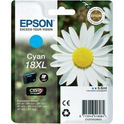 Epson 18XL (T1812) inktcartridge Cyaan hoge capaciteit (origineel)