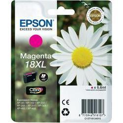 Epson 18XL (T1813) inktcartridge Magenta hoge capaciteit (origineel)
