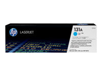 HP 131A - CF211A - toner cartridge - 1 x cyan - 1800 pages - for LaserJet Pro 200 color M251n, 200 color M251nw, 200 color MFP M276n, 200 color MFP M276nw
