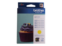 Brother LC123Y - Print cartridge - High Yield - 1 x yellow - 600 pages - for DCP J132, J152, J552, J752; MFC J245, J4310, J470, J4710, J650, J6520, J6720, J6920, J870