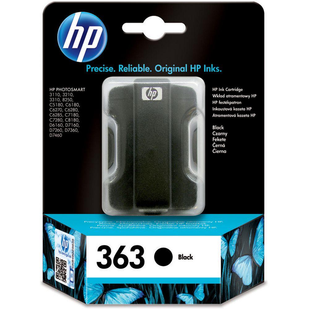 HP 363 (C8721EE) inktcartridge zwart (Origineel)