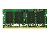 Kingston ValueRAM - Memory - 4 GB - SO DIMM 204-pin - DDR3L - 1600 MHz 1.35 V