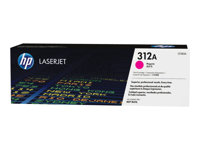 HP 312A - Magenta - original - LaserJet - toner cartridge ( CF383A ) - for Color LaserJet Pro MFP M476dn, MFP M476dw, MFP M476nw