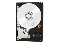 WD Red WD80EFRX - Hard drive - 8 TB - internal - 3.5 - SATA-600 - buffer: 64 MB