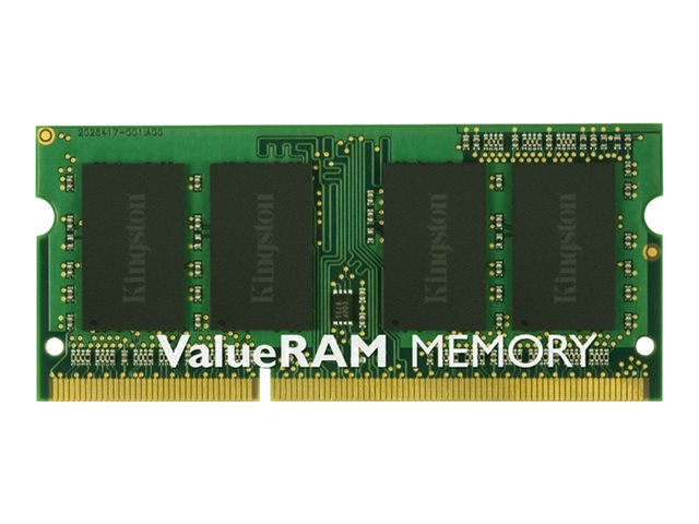 Kingston ValueRAM - Memory - 8 GB - SO DIMM 204-pin - DDR3L 1600 MHz  1.35 V