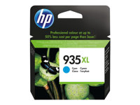 HP 935XL - Cyan - original - ink cartridge - for Officejet 6812, 6815; Officejet Pro 6230, 6230 ePrinter, 6830, 6835