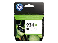 HP 934XL - Black - original - ink cartridge - for Officejet 6812, 6815; Officejet Pro 6230, 6230 ePrinter, 6830, 6835