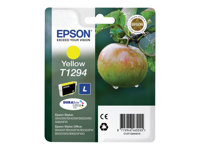 Epson T1294 - L size - yellow - original - blister with RF/acoustic alarm - ink cartridge - for Stylus SX230, SX235, SX430, SX438; WorkForce WF-3520, 3530, 3540, 7015, 7515, 7525