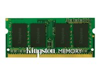 Kingston ValueRAM - Memory - 4 GB - SO DIMM 204-pin - DDR3 1600 MHz