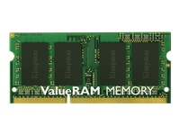 Kingston ValueRAM - Memory  - 8 GB - SO DIMM 204-pin - DDR3 1333 MHz