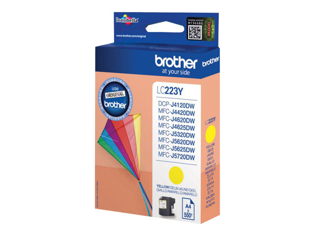 Brother LC-223Y Geel 5,9ml (Origineel)