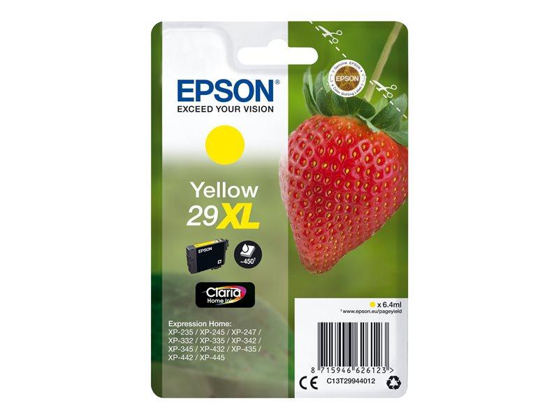 Epson 29XL - hoge capaciteit - yellow - origineel - inktcartridge