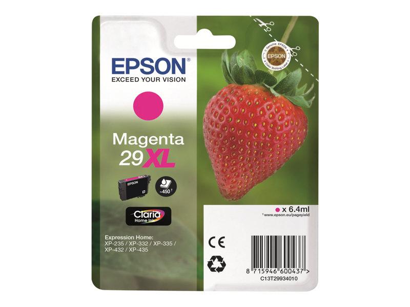 Epson 29XL - hoge capaciteit - magenta - origineel - inktcartridge