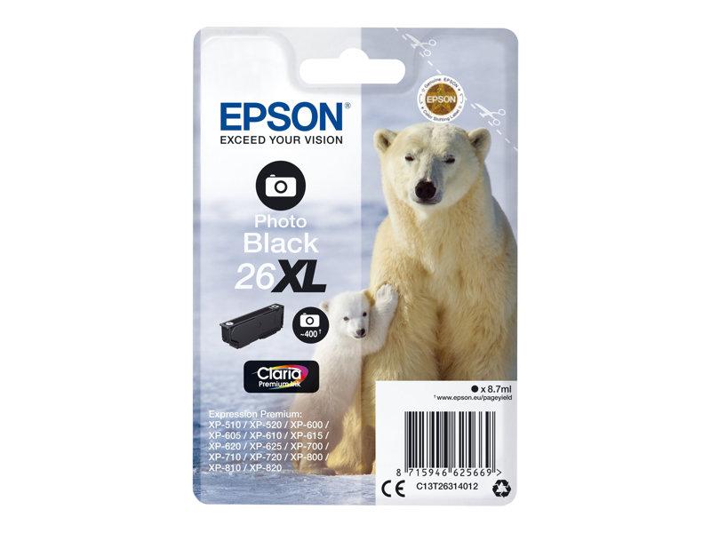 Epson 26XL foto zwart