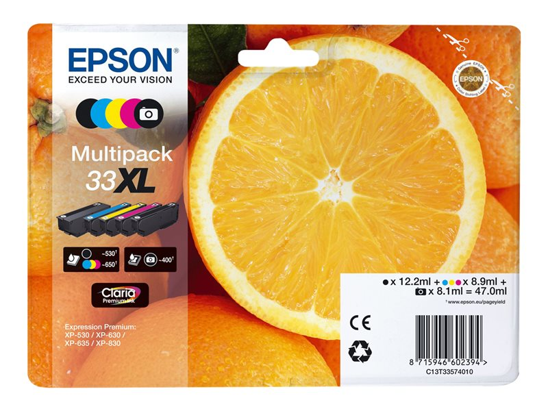 Epson T3357XL Multipack 47,0ml