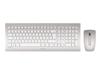 CHERRY DW 8000 Keyboard and Mouse Set silver/white