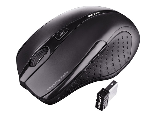 CHERRY MW 3000 Wireless Mouse black USB-Nano-Receiver right-handed