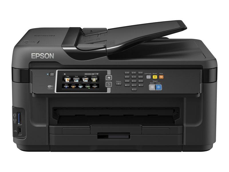 Epson WorkForce WF-7610DWF Multifunctionele printer kleur A4-A3 USB 2.0, LAN, Wi-Fi(n),