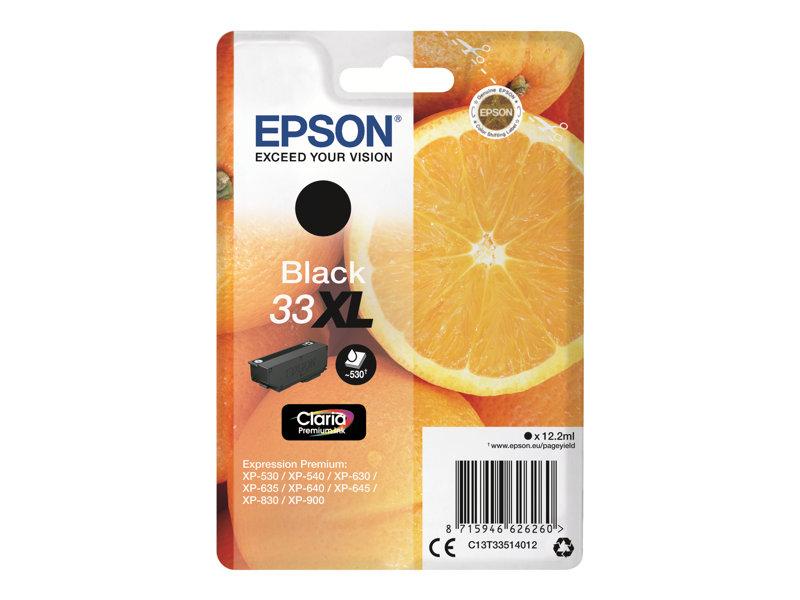 Epson 33XL (T3351) inktcartridge zwart (origineel)